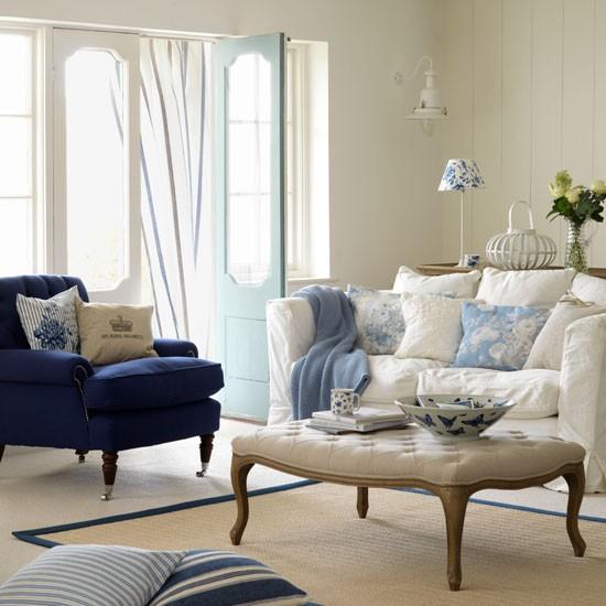 Elegant Country Living Room Homes Interiors